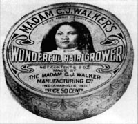 "Madam C. J. Walker's ""Wonderful Hair Grower"""