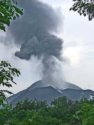The volcano huffing