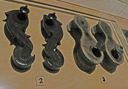 Cast Bronze Shoes