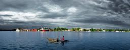 Canoe panorama