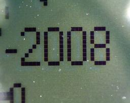 Date display on a Digicel phone