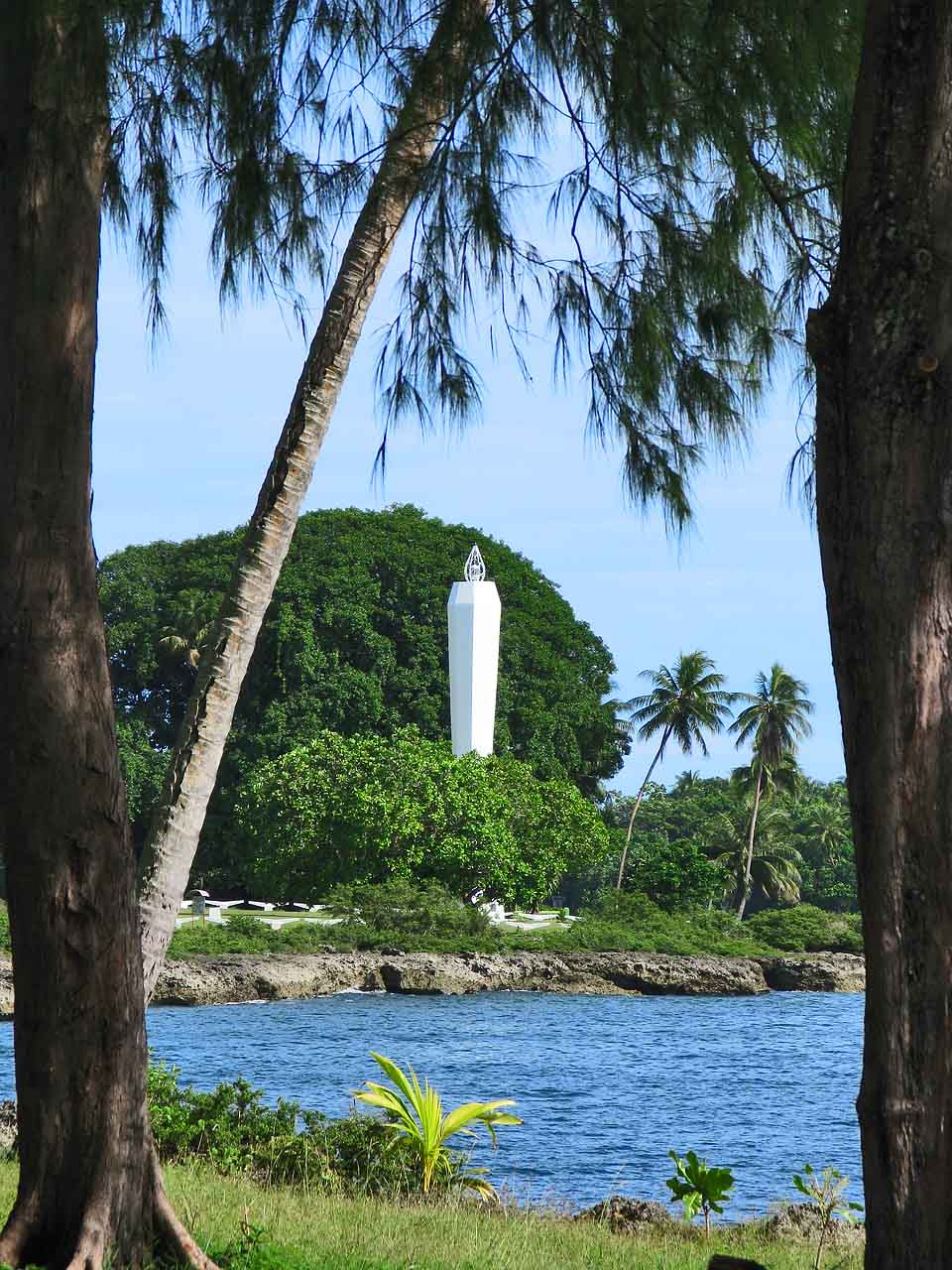 The Coastwatcher's Monument, Madang