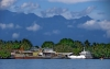 Madang Town with the Finisterre Mountains in the background