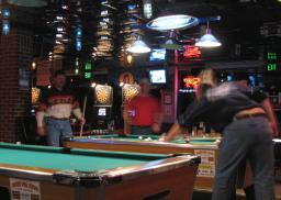 Hog Heaven - Plainfield Indiana - Shooting Some Pool