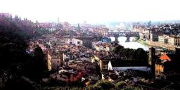 Claudia Spitzl's photo of Firenza (Florence) with the Ink Outlines filter