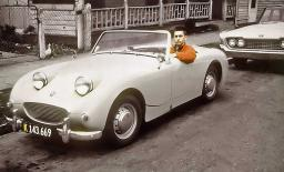 Me in my 1959 Austin Healey Sprite