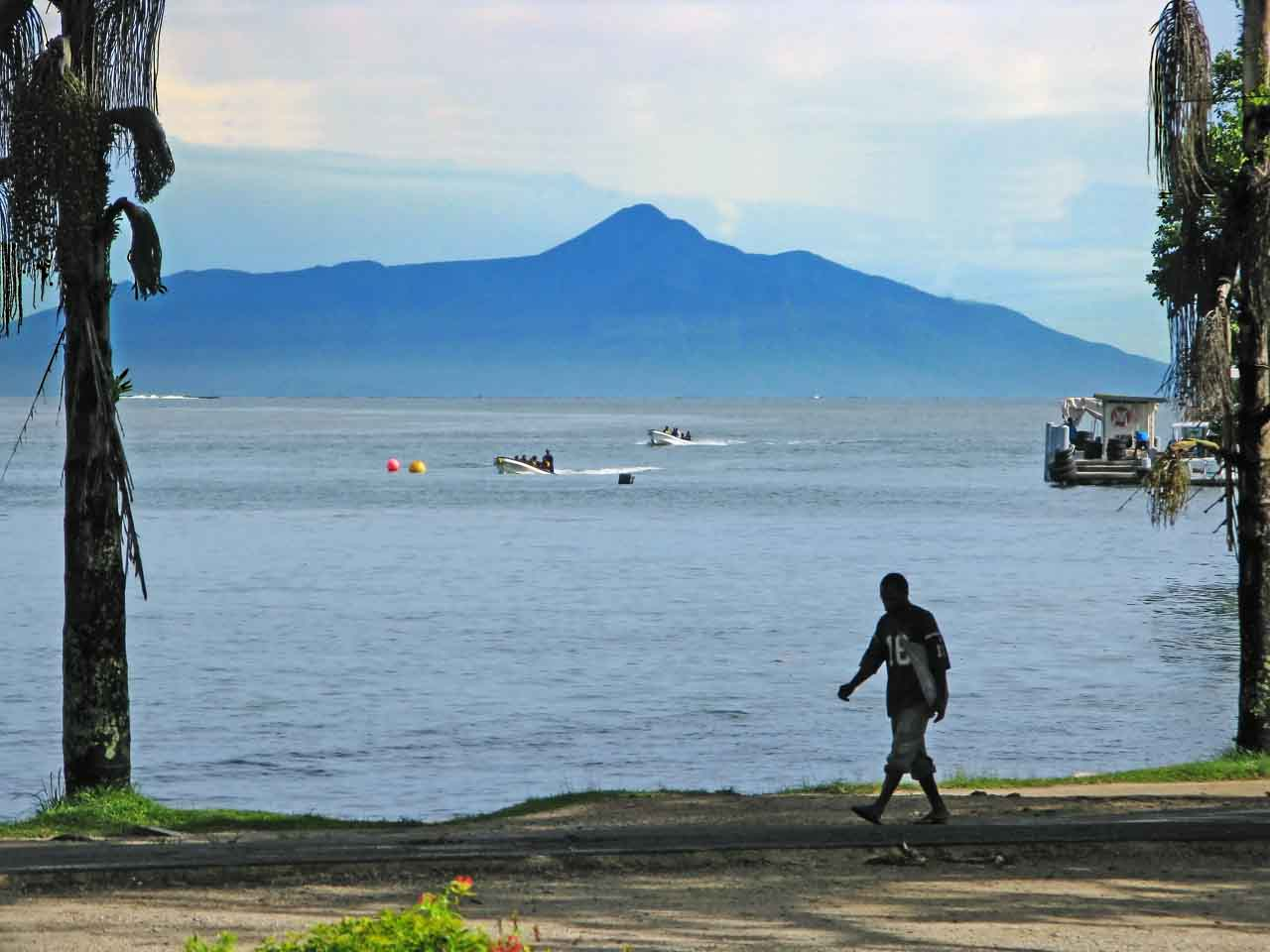 Karkar Island from Madang