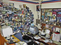 My optimally cluttered office