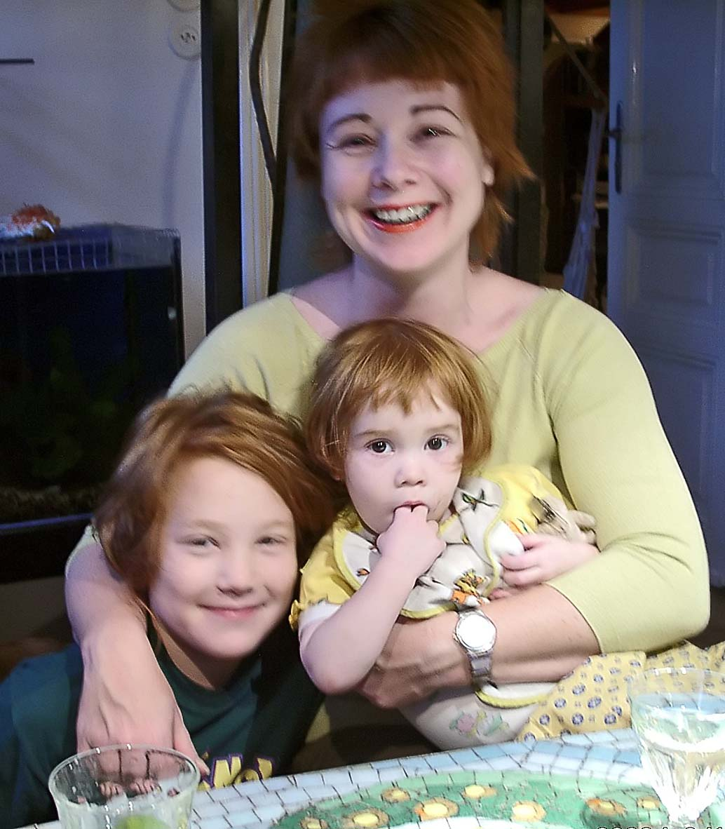 Maja and children
