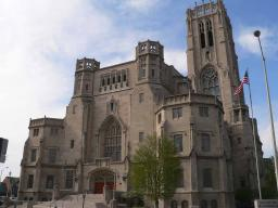 The Scottish Rite Cathedral in Indianapolis