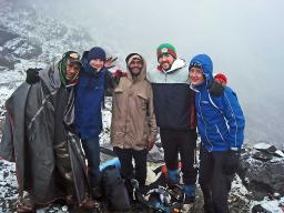 Snow on Mt. Wilhelm