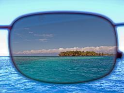Why you want brown polarized sunglasses at sea