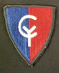 The shoulder patch of the 38th Infantry Division