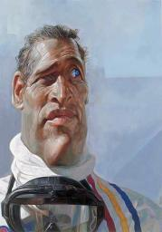 Paul Newman as seen by Sebastian Krüger