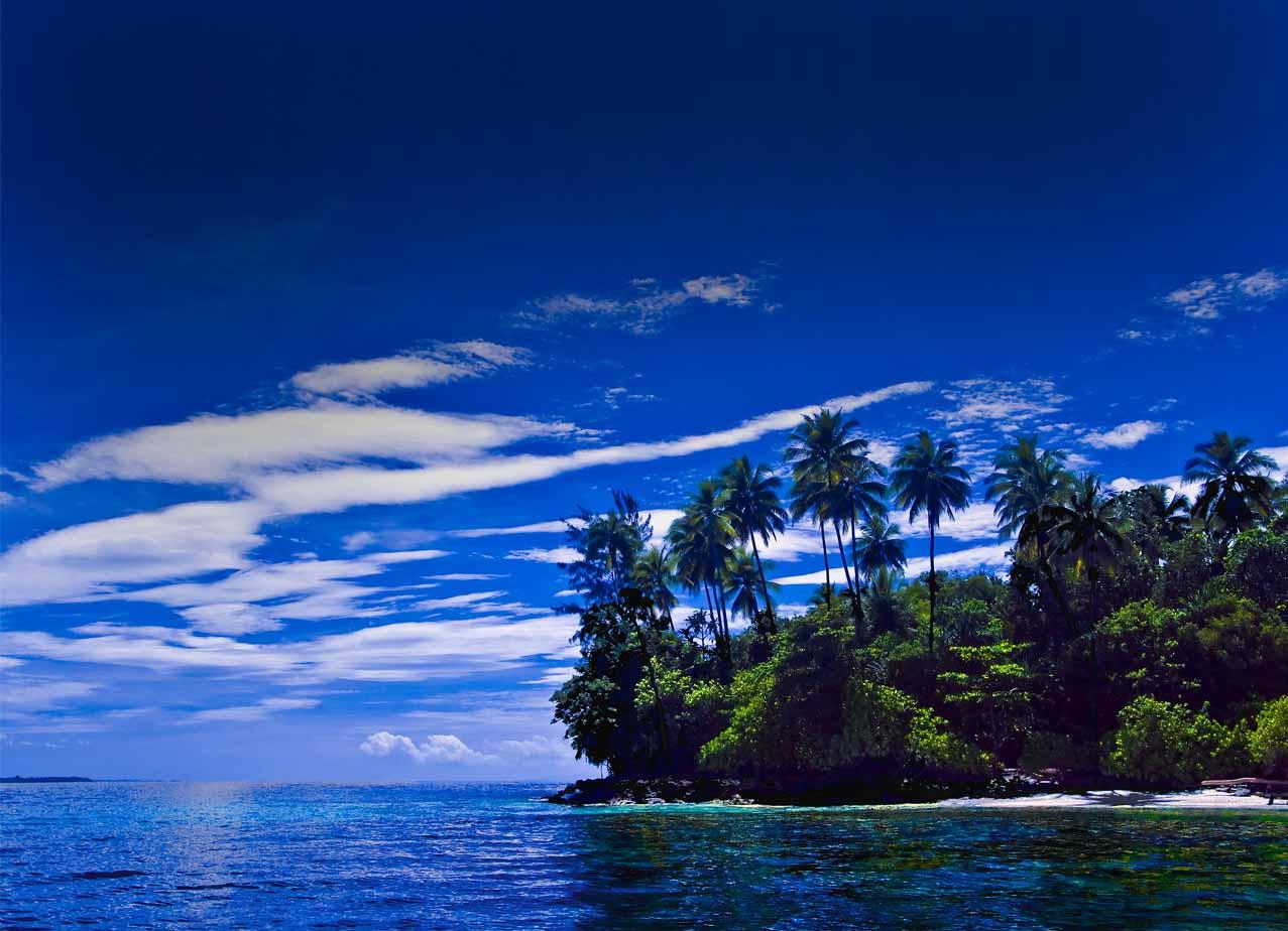 Pig Island sky