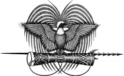 The PNG Natinoal Emblem