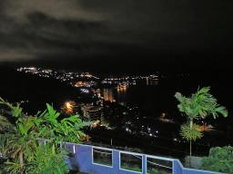 Night scene in Port Moresby