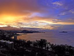 Port Moresby at sunrise