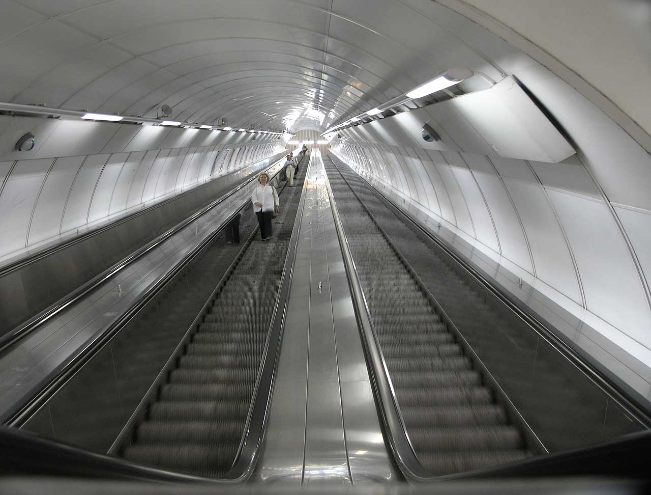 Prague Escalator