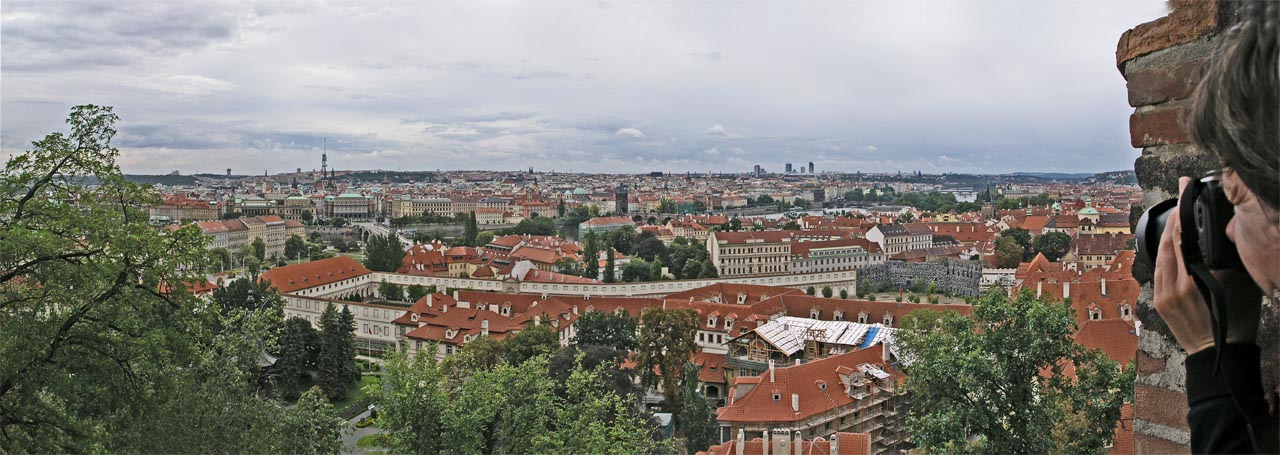 Prage Panorama from St. Vitus Cathedral