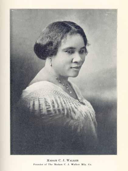 Sarah Breedlove, a. k. a. Madam C. J. Walker