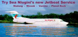 Sea Niugini Advertisement
