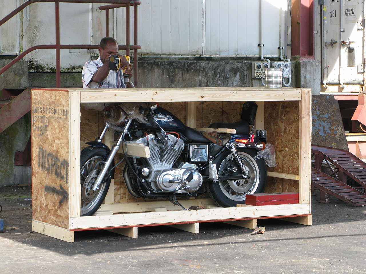 The Harley Comes to Madang