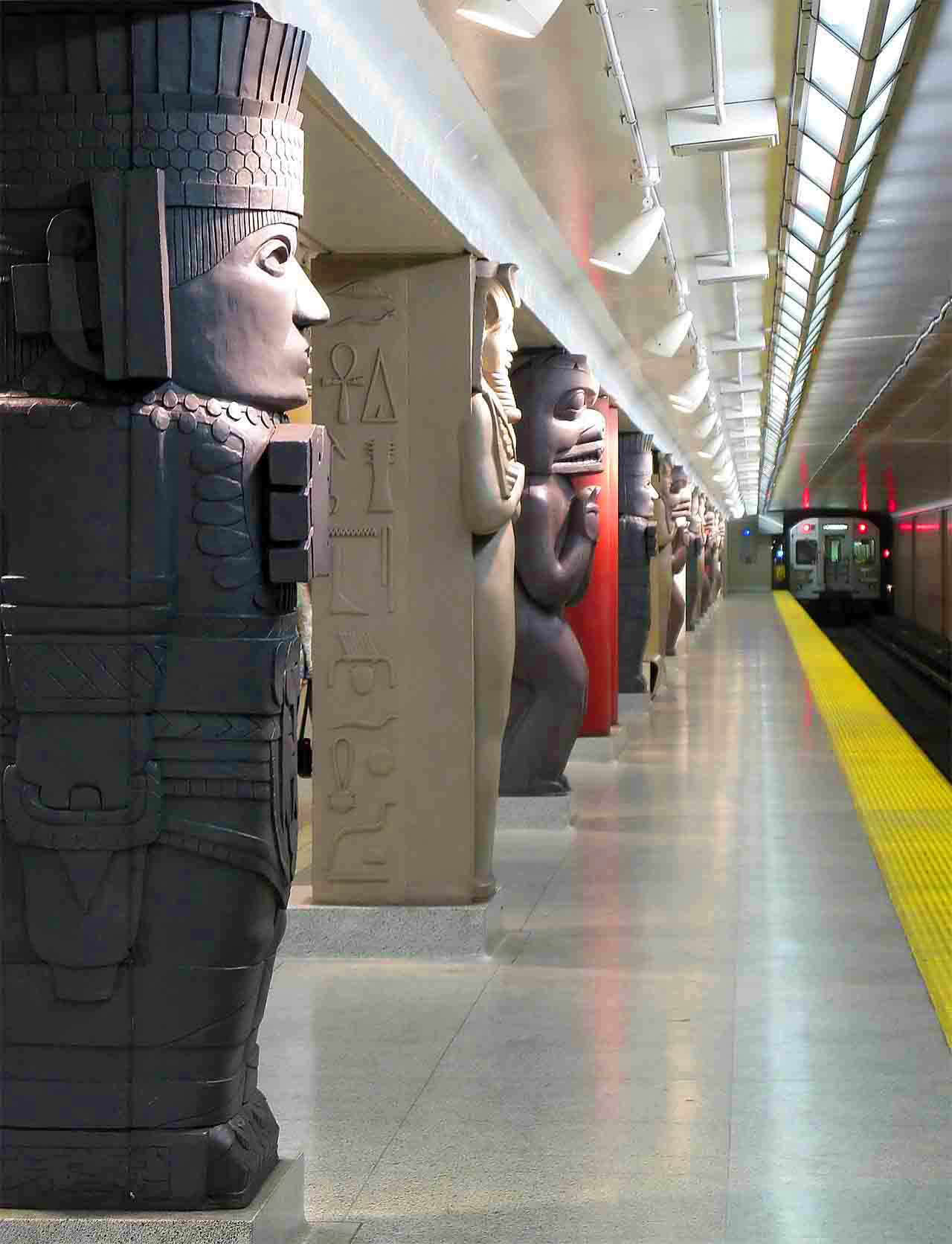 Subway station in Toronto