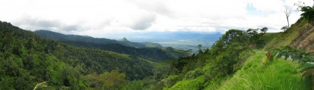 Another view of the Ramu Valley from Kassam Pass
