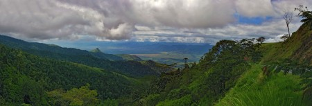 The Ramu Valley from Kassam Pass
