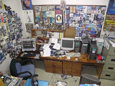 My disastrous office