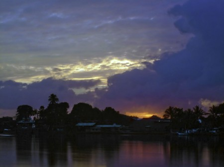 Gloomy Sunrise