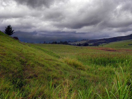 The beautiful rolling hills at Ukarumpa