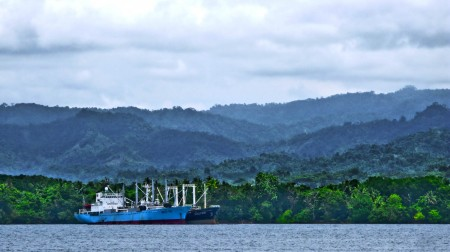Steamy Jungle and Ship