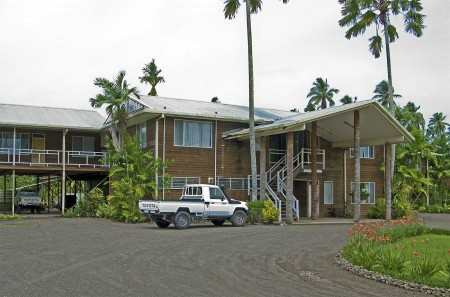 The Coconut Research Institute in Madang, Papua New Guinea