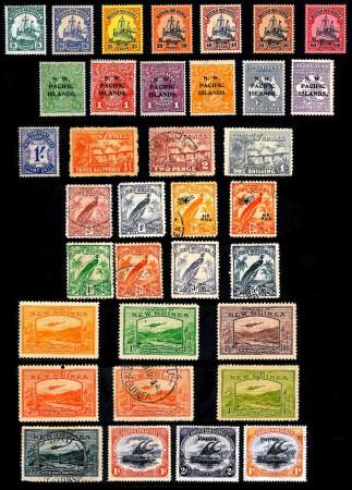 Early New Guinea Stamps 1