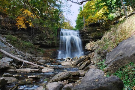 Grindstone Falls by Ron Barrons