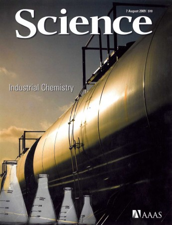 The cover of Science, 7 August 2009