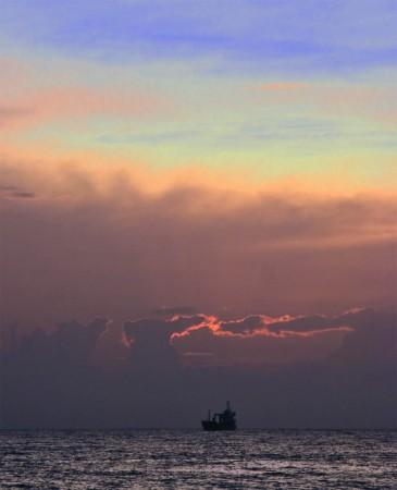 Ship Sunrise