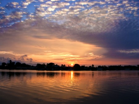 Sunrise in Madang