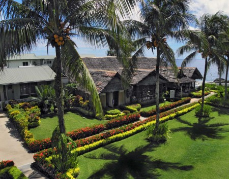 The Restaurant area of the Madang Lodge
