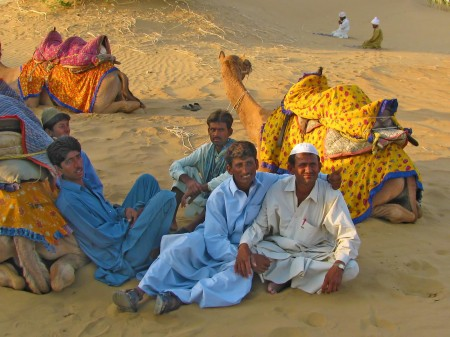 Camel Drivers by Val Jerram