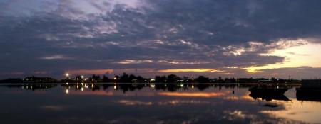 Purple Sunrise Panorama