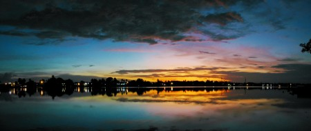 Sequential Sunrise at Madang - First Light