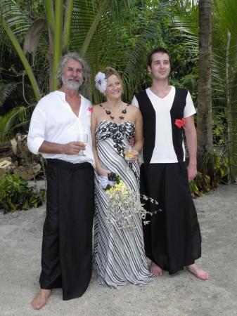 Trevor, Karen and Alexander