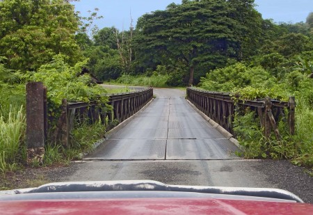 A Bailey bridge