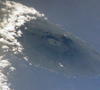 Satellite image of Kar Kar Island