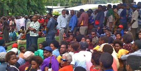 Madang Anti-Violence Protest shots by Heather Young-Leslie