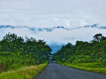 The road leading to the Ramy Valley from Madang