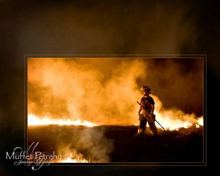 Fire Warrior by Muffet Petrehn